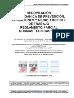 RECOPILACIÓN LOPCYMAT-REGLAMENTO PARCIAL-NT1 Y NT2-SEP 2010