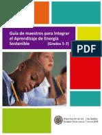 Manual del Docente Aprendizaje de Energía Sostenible