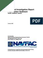 Dft Rem Investigation PH Sediment study 10.05