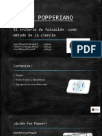 Modelo Popperiano