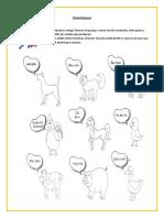 Discriminación Auditiva Animales