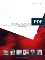 Mitsubishi Electric Tarifa 2019 Fontgas