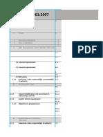 Referensi Silang ISO 2015 & OHSAS
