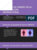 Igualdad de Genero en La Cooperación Internacional Finall
