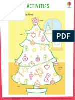 Christmas Tree Colouring Christmas Sticker and Colouring Book