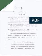 Senate Bill No. 1985