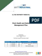 Work Health Safety Management Plan