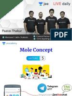 L5 Mole Concept