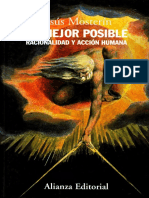 Jesus Mosterin - Lo Mejor Posible_ Racionalidad y Acción Humana-Alianza Editorial (2008)