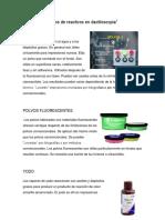 TIPOS DE REACTIVOS EN DACTILOSCOPIA