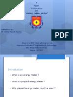 PPT on Prepaid Energy Meter