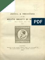 JASB 1911