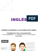 ICFES PPP ON ENGLISH SECTION