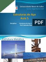 Estrutura de aço aula 5 _ Engenharia Civil