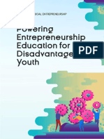 Manual for Youth Workers- Powering Entrepreneurship Education for Disadvantaged Youth