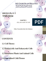 Chapter 1-Cell as a Unit of Life