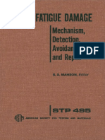 STP 495 - (1971) Metal Fatigue Damage Mechanism, Detection, Avoidance, and Repair.pdf