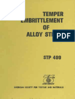 STP 499 - (1972) Temper Embrittlement of Alloy Steels.pdf