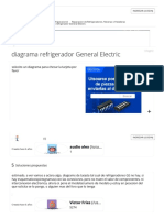 Diagrama Refrigerador General Electric - YoReparo