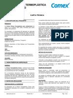 Comex Pintura Termoplastica p Senalamiento