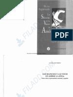 Argumedo - Los Silencios y Las Voces en America Latina. Cap 1 y 2