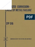 STP 516 - (1981) Localized Corrosin - cause of metal failure .pdf