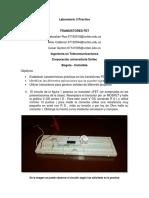 Los transistores FET.