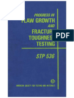 STP 536 - (1973) Process in flaw growth and fracture toughness testing .pdf