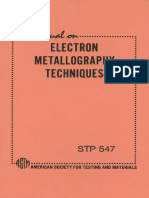 STP 547 - (1973) Manual on Electron Metallography Techniques.pdf