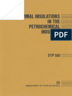STP 581 - (1975) Thermal Insulations in the Petrochemical Industry.pdf