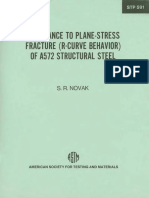 STP 591 - (1976) Resistance to Plane-Stress Fracture (R-Curve Behavior) of A572 Structural Stee.pdf