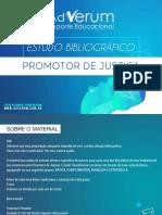 Estudo Bibliogrfico - Promotor de Justica
