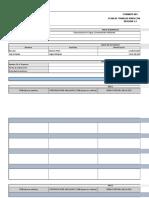 Cronograma de Actividades Consultoria