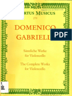 Domenico Gabrielli Cello Works - Copia