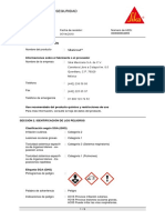 MSDS GROUT