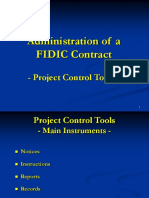 FIDIC Contract Administration