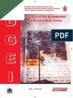 Antigo Apostila Bombeiro 2005