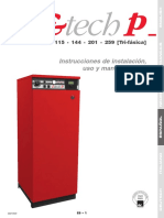 Manual Tec Cald Elect E-Tech 115 144 201 259 Trifasica de Pie