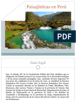 Reservas Paisajísticas en Perú