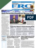 Baltimore Afro-American Newspaper, November 13, 2010