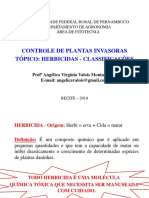 Aula - Herbicida (Classificação)_2019.1