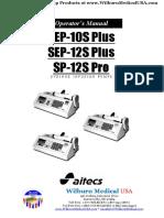 Aitecs Syringe Pump Manual