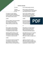 Historias Del Himno Nacional
