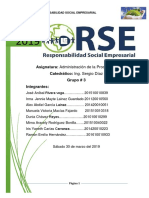 Responsabilidad Social Empresarial INFORME