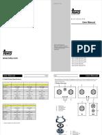Teka operation Manual