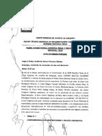 La Declaracion Del Imputado Es Un Acto Defensivo y No Un Medio de Prueba, Pleno-jurisdiccional-penal-De-Arequipa-2018