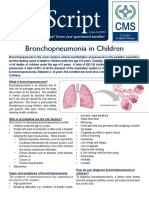 Bronchopneumonia in Children