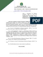 Resolução Da Diretoria Colegiada - Rdc Nº 288, De 4 de Junho de 2019