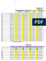 Grading Sheet 91