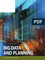 Big Data and Planning